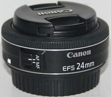 Canon EF-S 24mm f/2.8 STM 'pancake' prime lens [boxed, in excellent condition]
