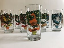 Lot of 2 (You Pick) Vintage Twelve Days Of Christmas Replacement Tumblers 12 oz