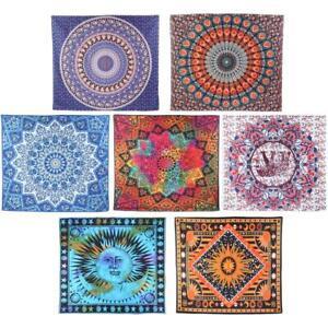 Mandala Hippie Strandtuch Yoga Matte Runde Wandbehang Tapisserie Wandteppich NEU
