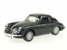 Porsche 356 B Coupe black diecast model car C711ND-018 Cararama 1/72