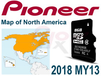PIONEER AVIC-X950BH Z150BH X850BT X8510BT Software Map Update 2018 USA Canada