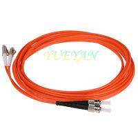 1 Meter FiberTool Duplex MM FC to FC Patch Cable 62.5//125 Fiber Optic Jumper