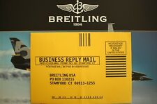 BREITLING PILOT RACER YACHT WATCH MANUAL BOOK GUIDE BOOKLET MAIL-IN REG ENVELOPE