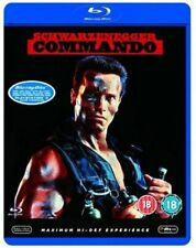 Commando [Blu-ray] [1985] [DVD][Region 2]