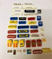 Lego Printed Tiles,computers,Bricks, Police Space Dealer Garage Cafe Lot