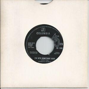 "Herman's Hermits - I'm Into Something Good 7"" Vinyl Single 1964"