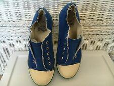 Boy's Mini Boden Blue Tennis Shoes. Size 35.