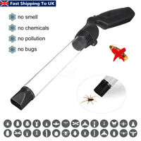 Spider Insects Trap Vacuum LED Suction Catcher Fly Bugs Buster Battery Operated