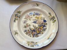 Antique Plate French Faience Handpainted Plate by Pierre Dubois c.1920, ff391