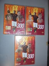 OPERA COMPLETA IN 3 OFFICIAL DVD 300 FRANCESCO TOTTI AS ROMA CALCIO GOAL