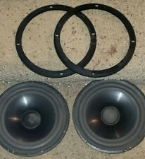 2 Infinity Woofers 902-4165 from RS-5001 (also 4001, 6001) vintage speakers