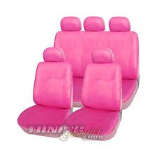 Leder Kunstleder Sitzbezug Sitzbezüge Sitz in Pink Rosa SET für viele Fahrzeuge