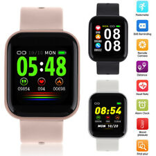Smart Watch Heart Rate Blood Pressure Monitor Fitness Tracker Android IOS Phone