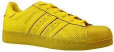 ADIDAS ORIGINALS superstar Adicolor cortos zapatos s80328 amarillo talla 36,5 & 37 nuevo