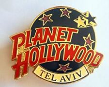 Planet Hollywood Pin / Badge Tel Aviv Classic Dark Blue Globe Logo