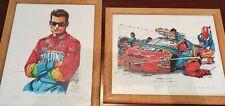 "RARE Jeff Gordon Prints by Rick Finn ""JAZZY JEFF"" & ""JAMMIN' JEFF"""