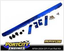 Aeroflow Alloy EFI Fuel Rail Kit Ford 6cyl Falcon Fairlane BA BF 4.0L Blue