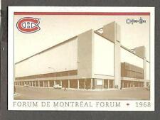1993 OPC Fanfest Puck Canadiens' Montreal Forum, c.1968