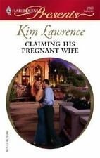 Claiming His Pregnant Wife, Lawrence, Kim, Good Condition, Book