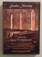 SUNDAY MORNING IN THE VALLEY featuring mac wiseman 1971   DVD