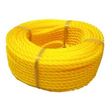 1/4 In. X 100 Ft. Polypropylene Twisted Orange Rope , Outdoor, Camping, BoatRope