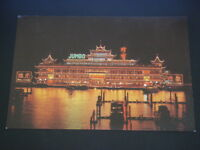 JUMBO FLOATING RESTAURANT HONG KONG POSTCARD