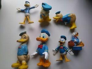 7 Donald Duck Figuren