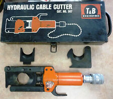 "Thomas & Betts T&B 367 Hydraulic Cable Cutter 1.6"" Cap, with NEW 367B Blade Set"