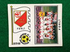 CALCIATORI 1979-80 79-1980 n 505 FORLI' SQUADRA SCUDETTO , Figurina Panini NEW