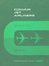 GENERAL DYNAMICS / CONVAIR - JETLINERS 880M & 990 / ORIENTATION MANUAL 1961