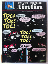 """Tintin n°1038 du 19/09/1968; Poster """"la chasse aux champignons""""/ Barbe Noire"""