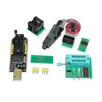 BIOS USB Programmer CH341A + SOIC8 Clip + 1.8V Adapter SOIC8 + H6U8 Adapter J8P5