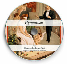 Rare Old Hypnotism Books on DVD - Mind Hypnosis Hypnotist Learn NLP Mesmerism G4