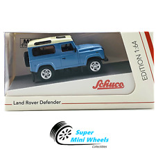 Schuco 1:64 - Land Rover Defender 90 (Blue) - Diecast Model