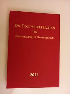 Briefmarken Jahrbuch 2011 mit Schuber Postfrisch