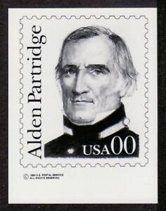 Photo Essay, USA Sc1854 Great American, Alden Partridge, FV 00.