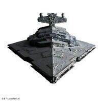 BANDAI STAR WARS Star Destroyer 1/5000 Scale Plastic Model Kit w/ Tracking F/S