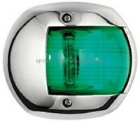 Navigation Light Stainless Steel GREEN Starboard Boat Yacht Sailing Compact