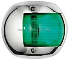 Navigation Light Stainless Steel GREEN Starboard Boat Yacht Sailing  NAVSSGN