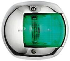 LED Navigation Light Stainless Steel GREEN Starboard Boat Yacht NAVSSGNLED