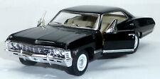 1967 Chevrolet Impala schwarz Sammlermodell ca. 12,5cm / 1:43 Neuware KINSMART
