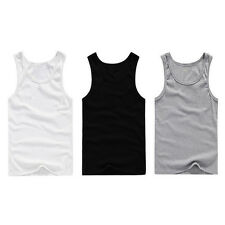 Summer Mens Sleeveless T Shirt Stringer Tank Top Cusual Sports Shirts Vests