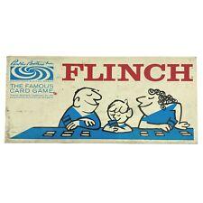 Parker Brothers Vintage Flinch Vintage 1963 Mid Century Board Game