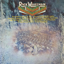 RICK WAKEMAN - Journey To The Centre Of The Earth (LP) (VG/VG-)
