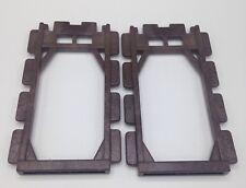 Playmobil Brown Window Frames Castle  Fort Bravo Window Frames Set of 2 3666