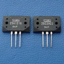 2SA1216 2SC2922 SANKEN High Power Audio Transistor, x10