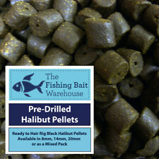 TUTTI FRUTTI PRE-DRILLED HALIBUT PELLETS HIGHLY FLAVOURED 8MM RED 80G