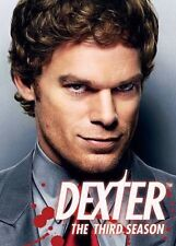 Dexter - The Complete 3rd Third Season (DVD, 2009) Police Drama Series Awesome