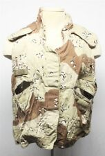 Uniform: Desert Storm era 5 Color Desert Camo Vest Cover - Chocolate Chip