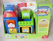 LeapFrog Baby Learning Town Wash & Wax (Car Wash) Blocks Educational 6m+